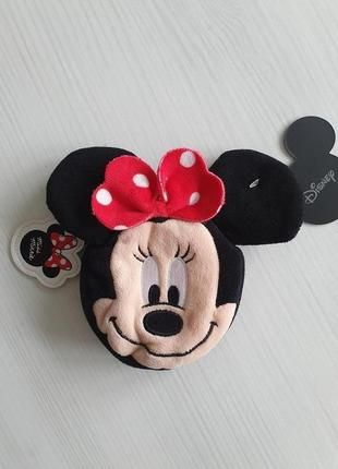Флисовый кошелек минни маус minni mouse disney дисней hm zara