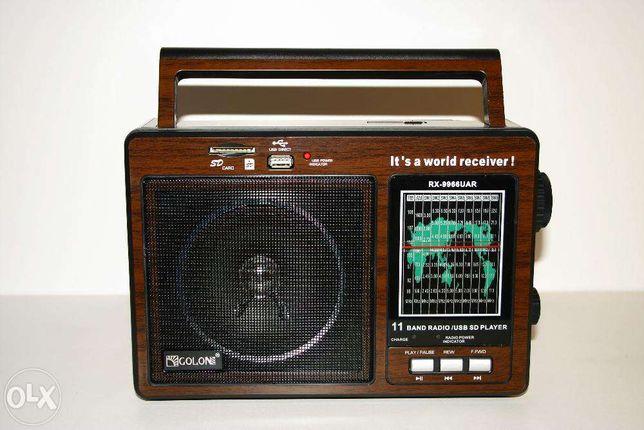 НОВЫЕ! Радиоприёмник радио GOLON RX-9966 высокая чувствительность