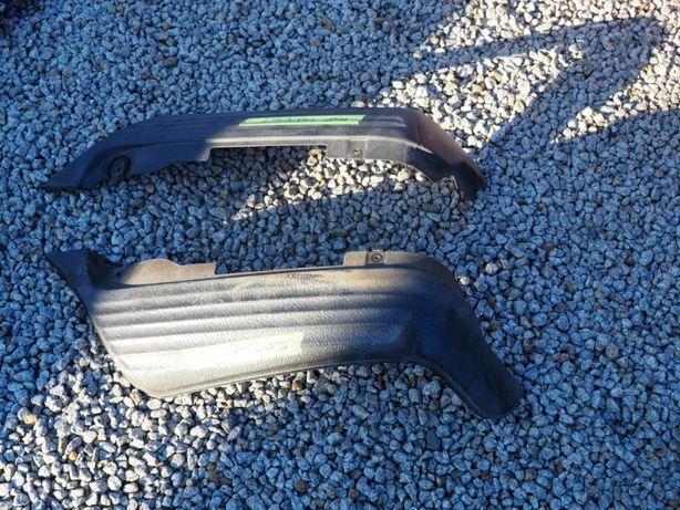 Spojler zderzaka tył mercedes W107 USA L+P