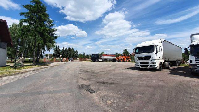 Zduńska Wola - utwardzony plac pod usługi, parking TIR, autokomis