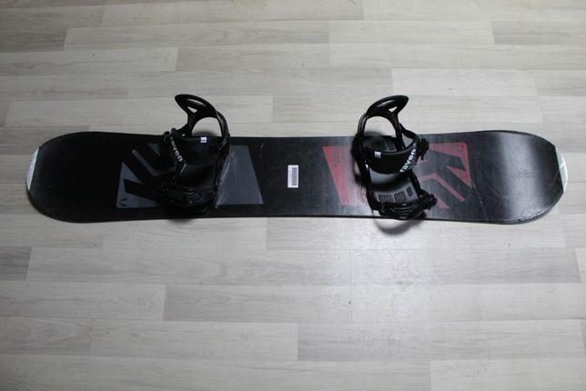 Deska Snowboard K2 EST'87 155 cm + Wiązania