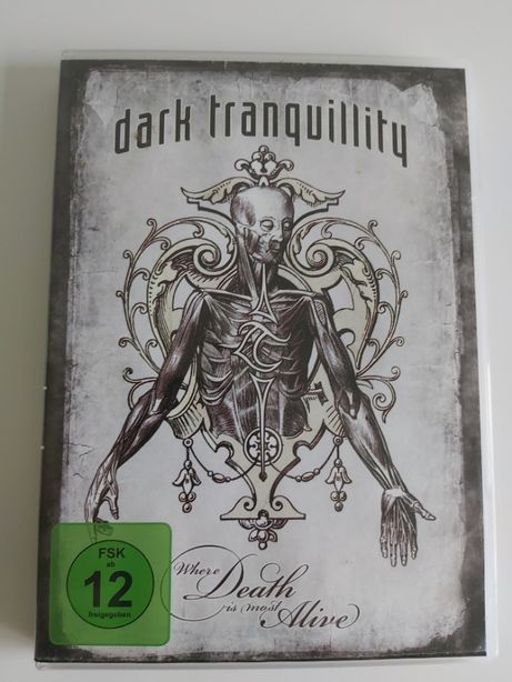 Dark Tranquility DvD - Where Death is Most Alive
