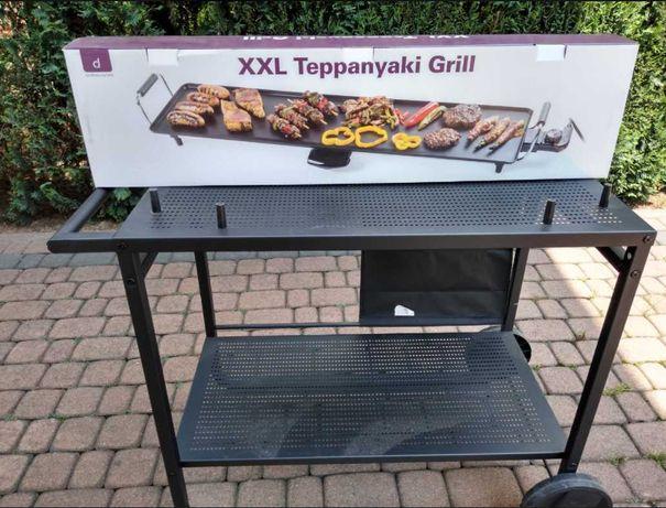 stolik NOwy Stół wózek ogrodowy grill do grilla na kółkach