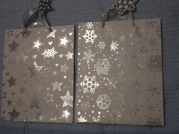 Подарочные пакеты, новогодняя тематика
