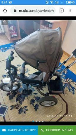 Детский трехколесный велосипед Turbo. Торг