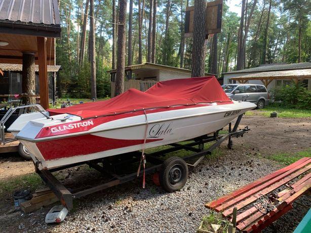 Motorówka., łódż motorowa 6 miejscowa Glastron + przyczepa