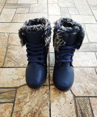 Ботинки женские, теплые, зимние,легкие