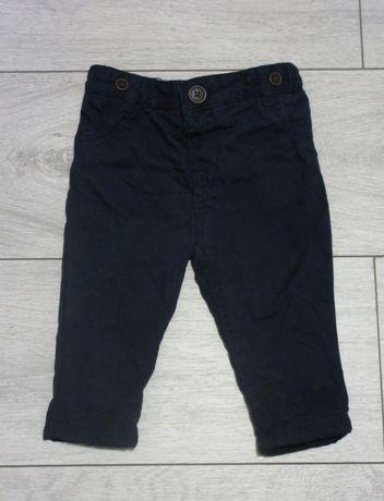 Granatowe spodnie F&F rozm.68