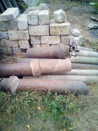 Трубы керамические для канализации и дымохода гипсоблок