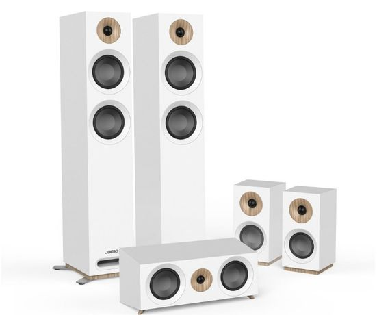 Zestaw kolumn głośnikowych 5.0 Jamo Studio S 807 głośniki kino domowe