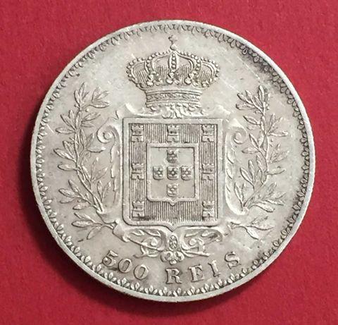 500 Réis 1891 - prata