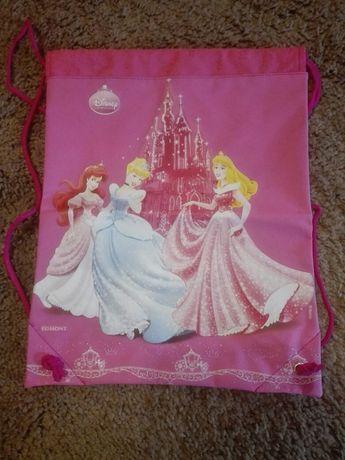 Worek dla dziewczynki - Księżniczki Disney