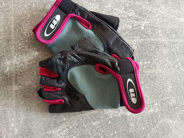 Skórzane rękawiczki Martes rower Okazja !