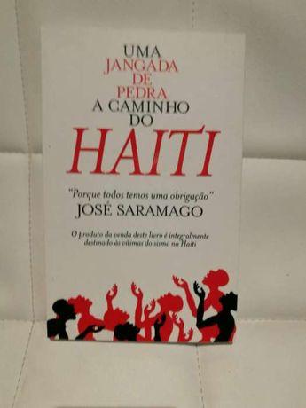 Livro Uma Jangada de Pedra a Caminho do Haiti de José Saramago