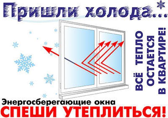Замена стеклопакетов в металлопластиковых окнах
