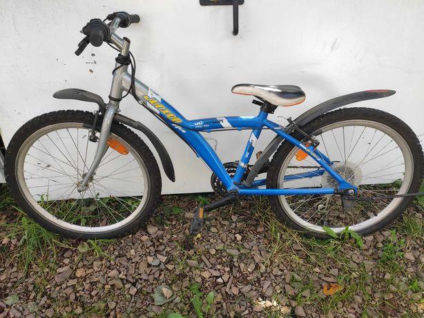 Rower młodzieżowy 24 c/ opony