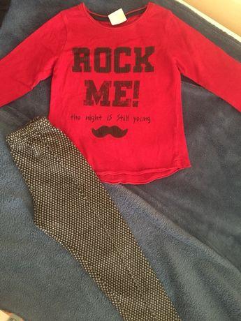Zara на 2-3года костюм лосины реглан Кофта свитер Некст next