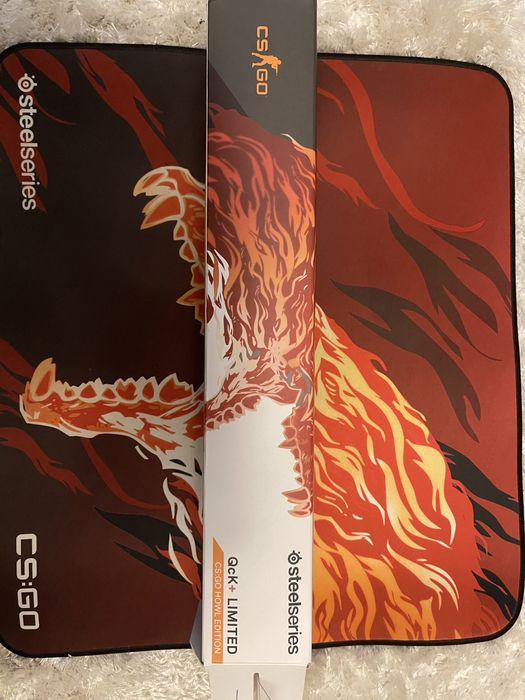 Коврик для мыши SteelSeries QcK+ CS:GO Howl Edition Степная - изображение 1