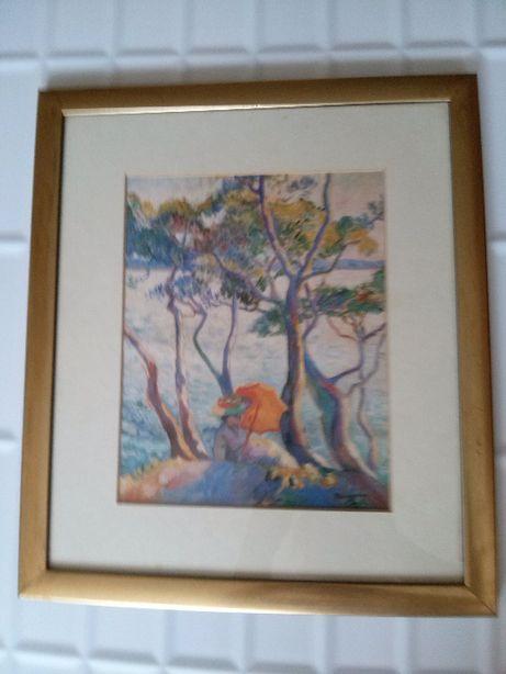 """Obraz francuskiego malarza Henri Manguin """"Jeanne"""", 1906 rok.Przesyłka"""