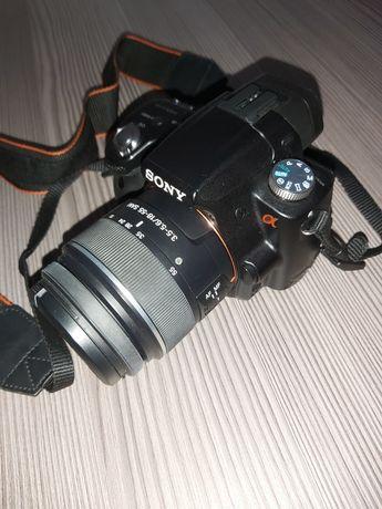 Sony A55 + 18-55 uszkodzona