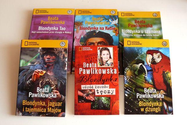 Beata Pawlikowska, Blondynka tao, w dżungli, u szamana, na Kubie