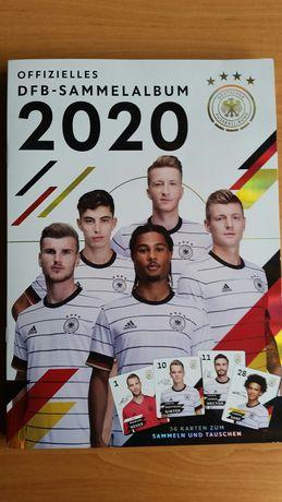 Журнал с карточками игроков сборной Германии,  посвящённый Euro 2020