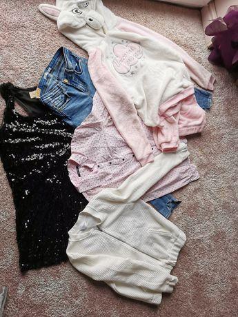 Ubrania roz 36, sukienka, piżama, jeansy, koszula, bluza-kurtka