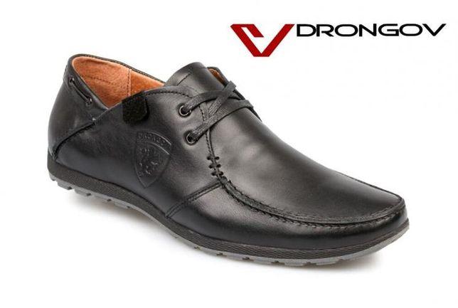 КрутыеКомфортные мужские мокасины(туфли)DRONGOV MUSTANG-5