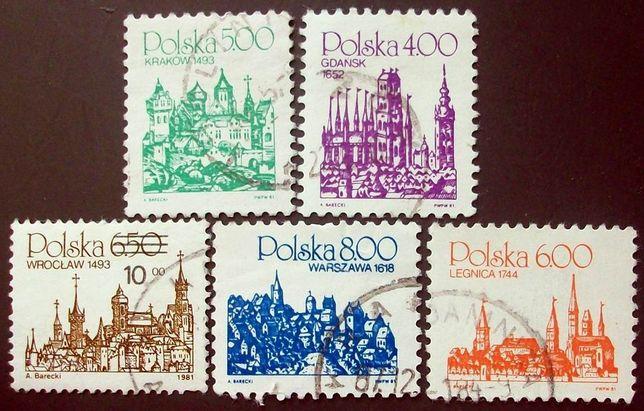 K znaczki polskie z 1981 roku