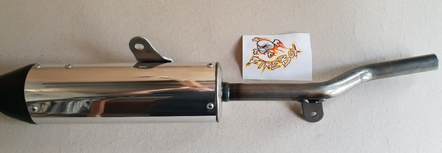 Ponteira escape Yamaha DTR125 Firebox