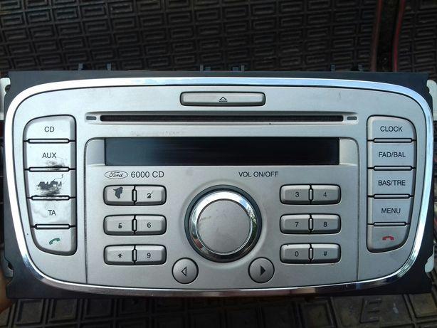 штатна магнітола до Ford 6000CD