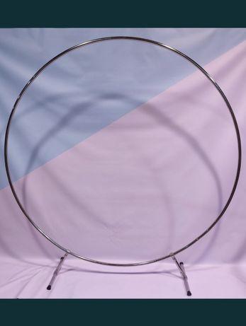 фотозона, круг, каркас