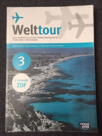 Welttour 3 podręcznik z języka niemieckiego
