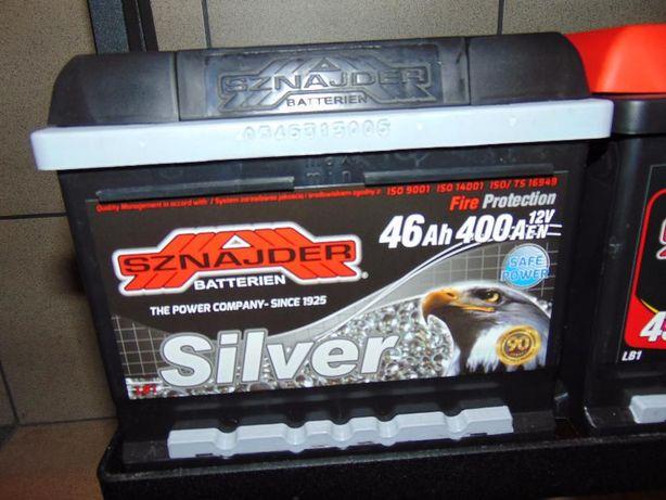 Akumulator Zap Sznajder Silver 46Ah 400A P+ Wymiana za darmo Kraków