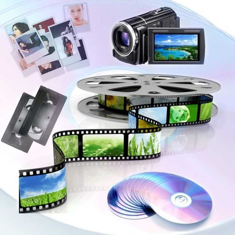 Запись Оцифровка ПереЗапись Видео-Кассет на HDD-Диск-USB-Флешку