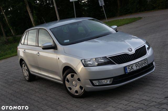 Škoda RAPID Spaceback 1.2 TSI * Salon Polska * 2 komplety opon * stan bardzo dobry