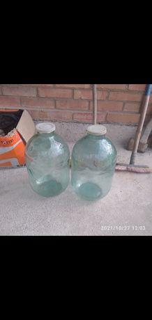 Банки 10 литров 4 штуки по 200 грн