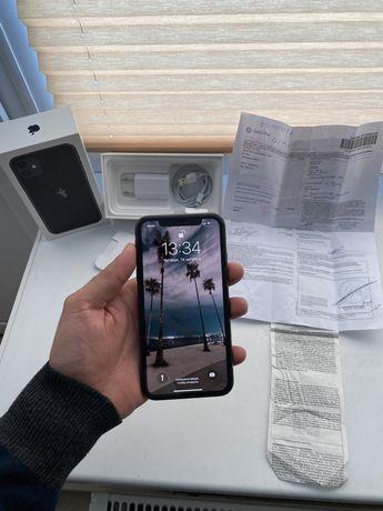Iphone 11 Black 64GB в идеале, полный комплект