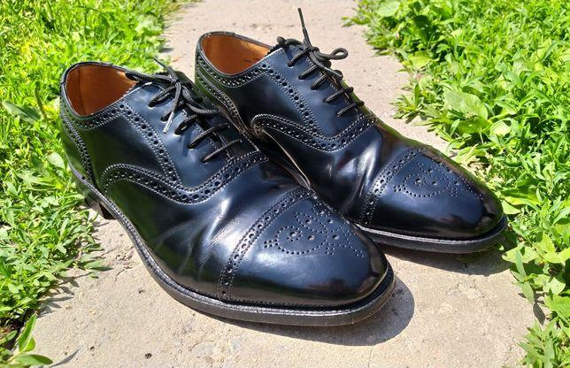 Кожаные туфли Loake L1   45 - 29 см (оксфорды, броги)