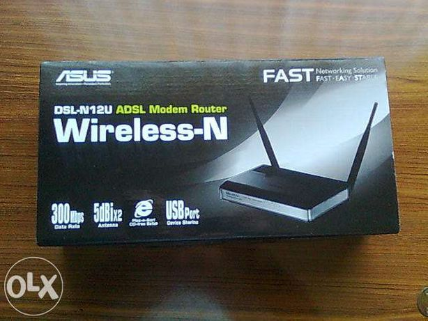 Modem router adsl asus livre