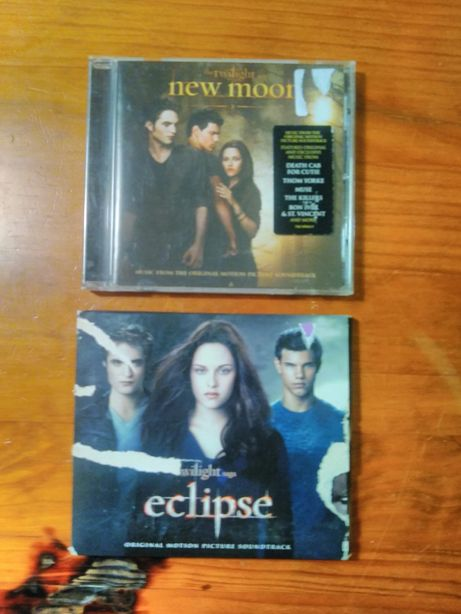 CDs Twilight eclipse e new moon