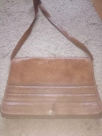 skórzana torba listonoszka