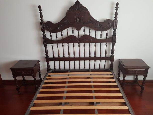 Mobília quarto casal antiga vintage