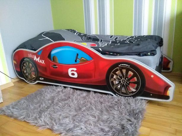 Łóżko dziecięce samochód z materacem 180x90