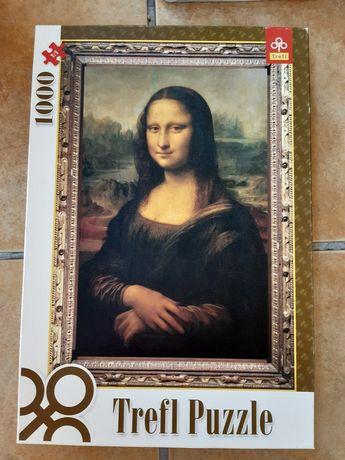 Puzzle 1000 elementów Mona lisa