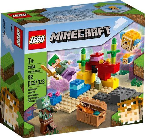 Lego Minecraft 21164 Rafa koralowa Wys24h na prezent Nowość