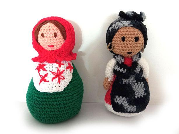 Bonecas em Crochet - Amigurumi