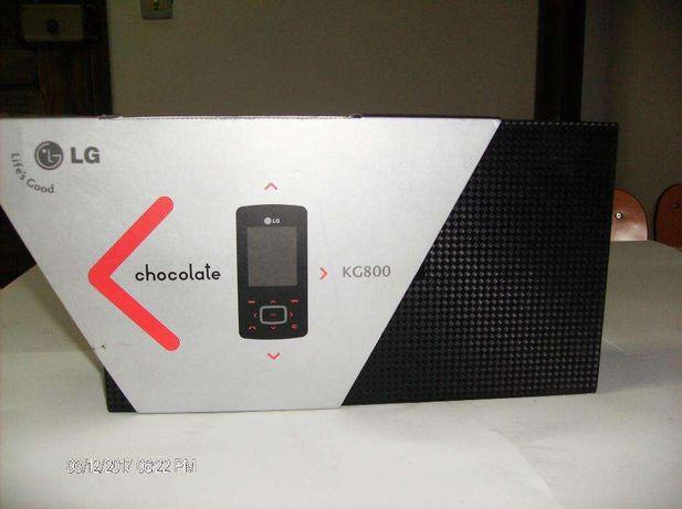 Telemóvel LG - KG 800 (Chocolate) - NOVO