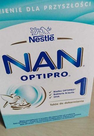 Mleko Nan 1 optipro na chusteczki nawilżane