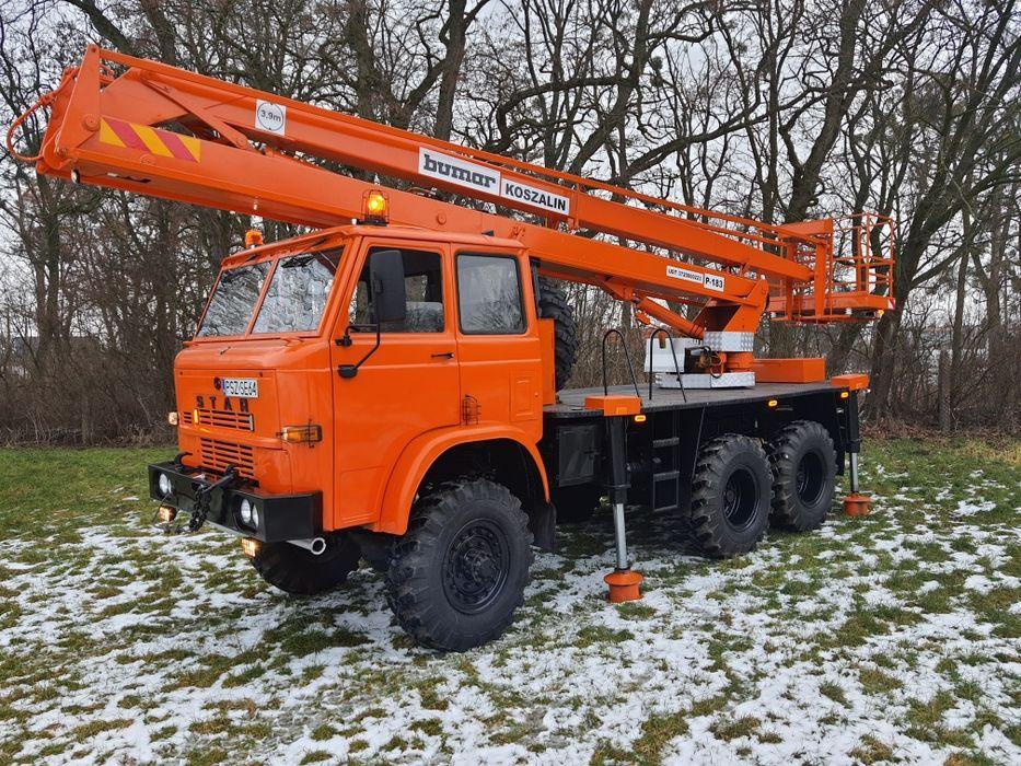 Uslugi  podnośnikiem koszowym Star 266 terenowy 6x6 4x4,udźwig 300 Międzychód - image 1